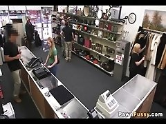 Blonde amateur sells her pussy for money at a pawnshop_72  71